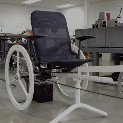 An ok design, although it looks like a wheelchair